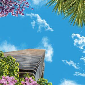 آسمان مجازی درخت و برج 3x3-22