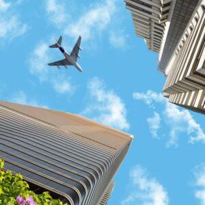 آسمان مجازی ساختمان و هواپیما 3x4-21