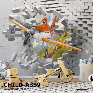 پوستر دیواری انیمیشن و کارتون هواپیماها