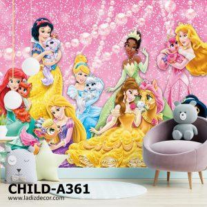 پوستر دیواری انیمیشن و کارتون پرنس و شاهزاده های والت دیزنی