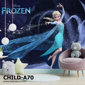 پوستر کارتون فروزن Frozen السا و انا