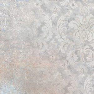 پوستر طرح شمسه تخریب شده روی زمینه پتینه طوسی