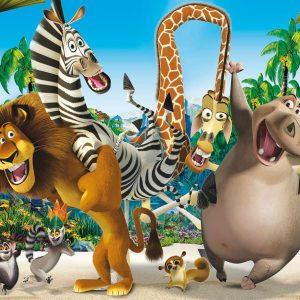پوستر دیواری کارتون و انیمیشن ماداگاسکار
